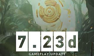 《DOTA2》7.23d更新内容
