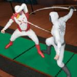 击剑格斗锦标赛